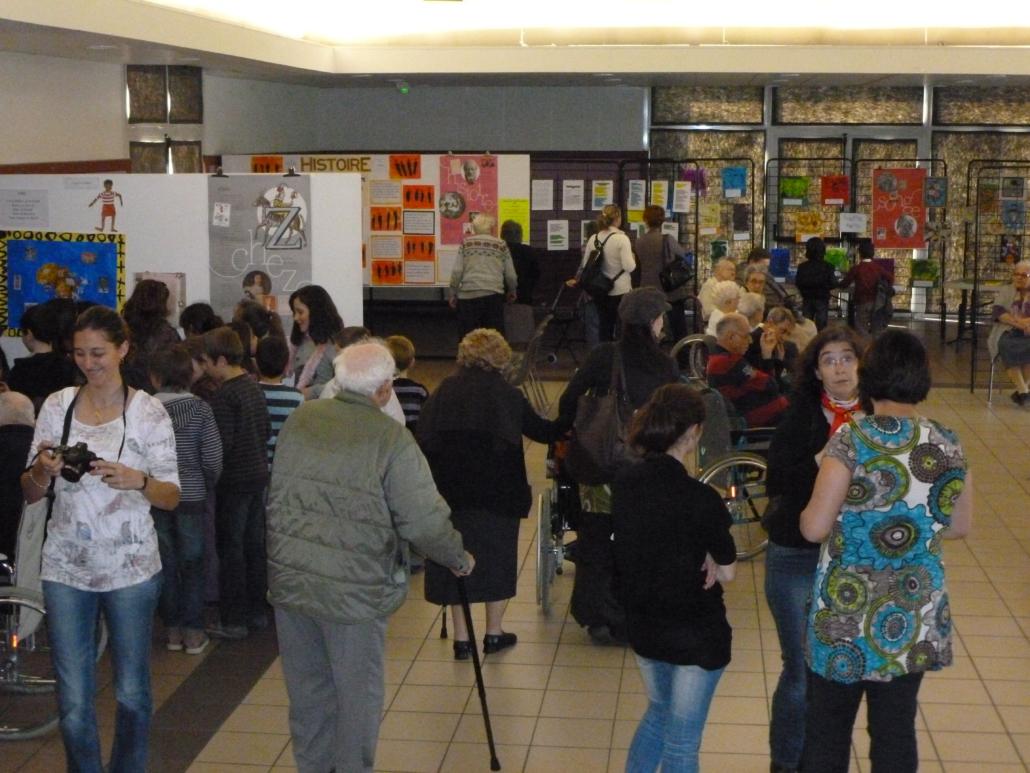 2012 expo travaux artistiques au lido