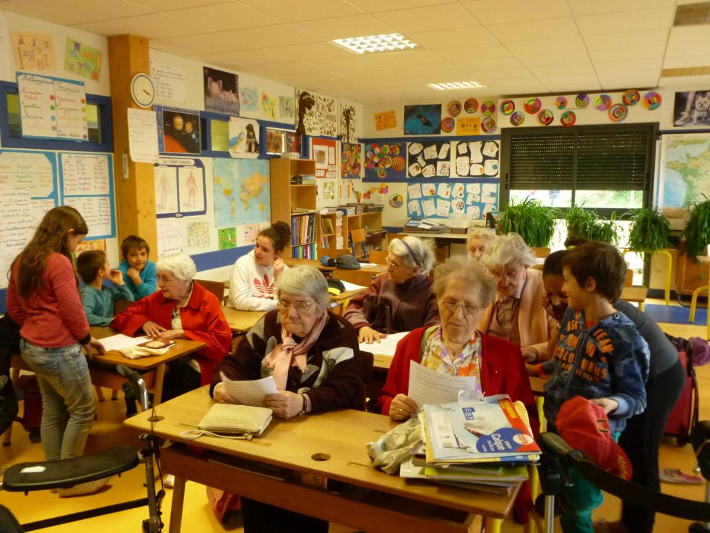 2014 école provée et résidents maison de retraite