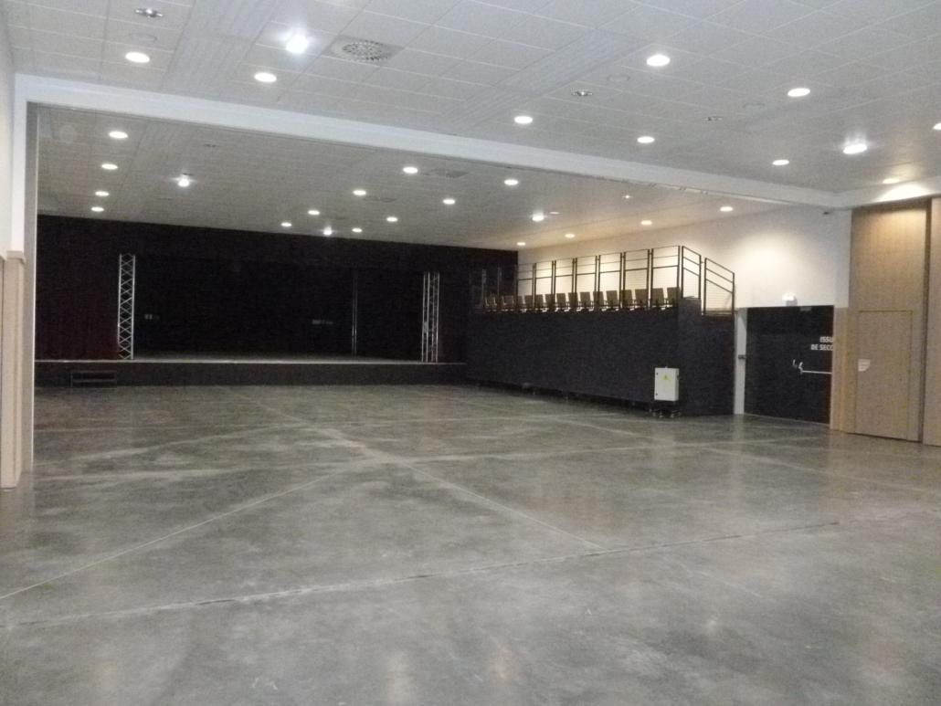 salle Lido côté scène