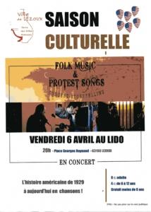 Affiche concert Cyril AMBLARD