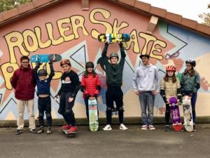 Maison des jeunes initiation skate