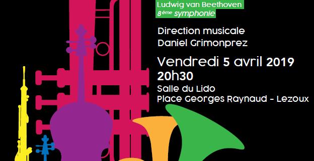 affiche concert orchestre d'Auvergne