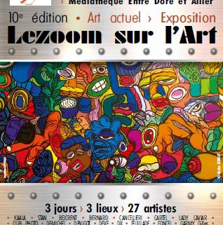 lezoom sur l'art affiche