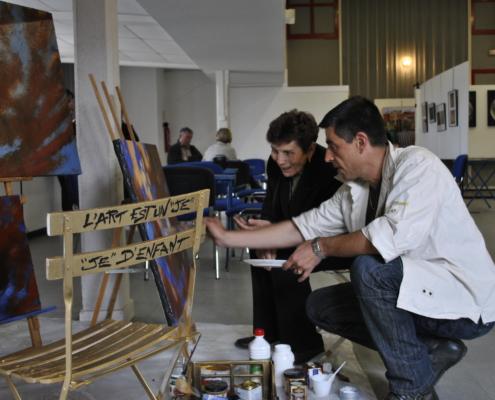 Expo Lezoom sur l'art