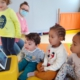 Crèche Lapins bleus : visio avec maison de retraite