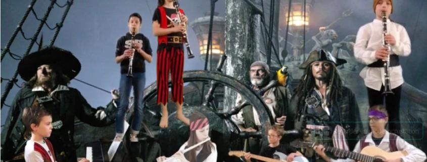 école de musique : petit orchestre